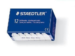 STAEDTLER BLACKBOARD CHALK WHITE PKT12