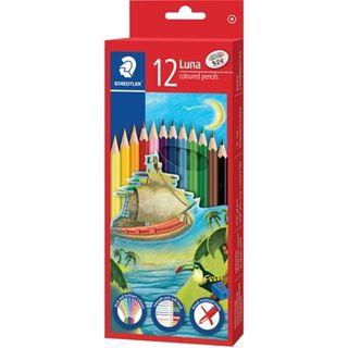 STAEDTLER LUNA PERMANENT PENCIL SET 12