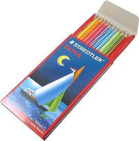 STAEDTLER LUNA AQUARELL PENCIL SET 12