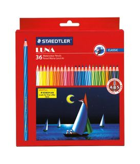 STAEDTLER LUNA AQUARELL PENCIL SET 36
