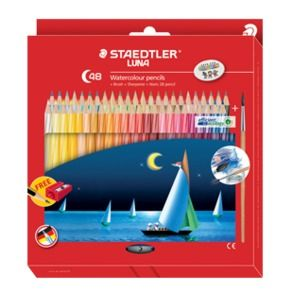 STAEDTLER LUNA AQUARELL PENCIL SET 48