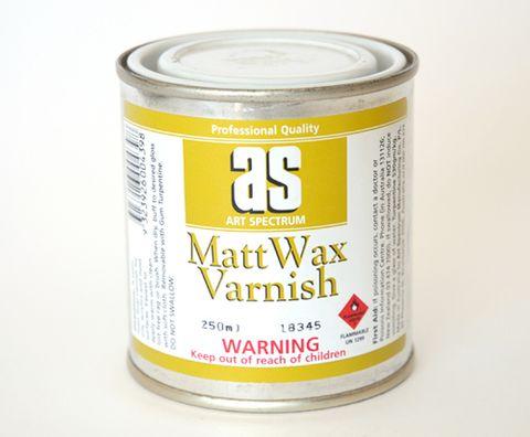 ART SPECTRUM MATT WAX VARNISH 250ML