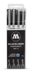 MOLOTOW BLACKLINER SET 4 #2 (0.3, 0.5, 0.7, 1.0)
