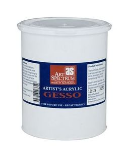 ART SPECTRUM ARTISTS GESSO 1 LTR