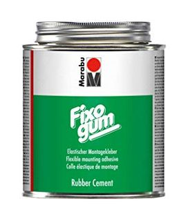 MARABU FIXOGUM RUBBER CEMENT 500G TIN