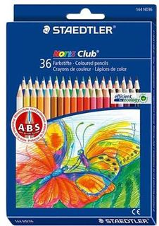 STAEDTLER NORIS CLUB COLOUR PENCILS SET 36