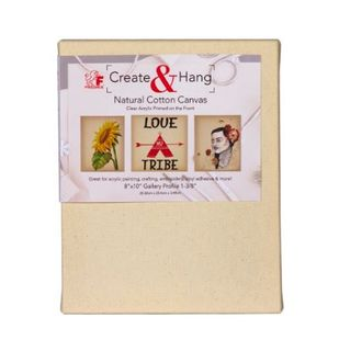 FREDRIX NATURAL COTTON CANVAS CLEAR PRIMED 8X10