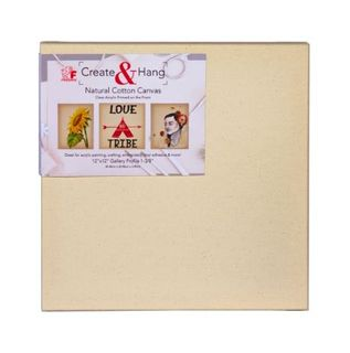 FREDRIX NATURAL COTTON CANVAS CLEAR PRIMED 12X12