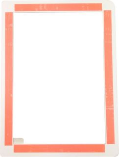 MISCREEN PLASTIC FRAME 145 X 210MM TAPED