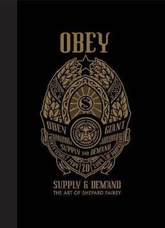 OBEY SUPPLY AND DEMAND SHEPARD FAIREY