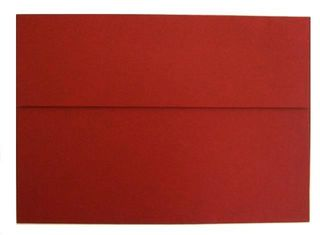 COLOURFIELD ENVELOPES C6 SCARLET RED