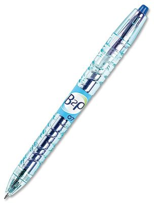 PILOT B2P BOTTLE-2-PEN ROLLERBALL GEL INK 0.7 BLUE
