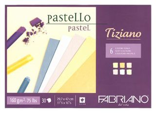 FABRIANO TIZIANO 160G PASTEL PAPER PAD A3 SOFTS