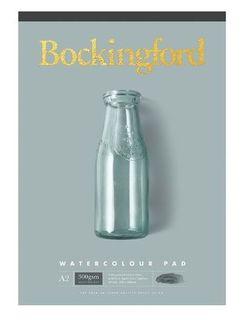 BOCKINGFORD WATERCOLOUR PAD 300GSM CP A2