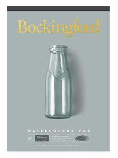 BOCKINGFORD WATERCOLOUR PAD 300GSM CP A3