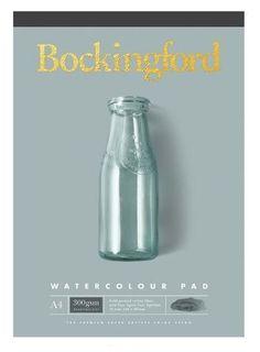 BOCKINGFORD WATERCOLOUR PAD 300GSM CP A4