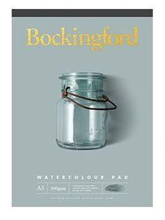 BOCKINGFORD WATERCOLOUR PAD 200GSM CP A2