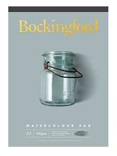 BOCKINGFORD WATERCOLOUR PAD 200GSM CP A3