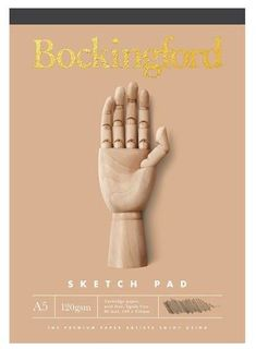 BOCKINGFORD B21 SKETCH PAD 120G A5 60LF