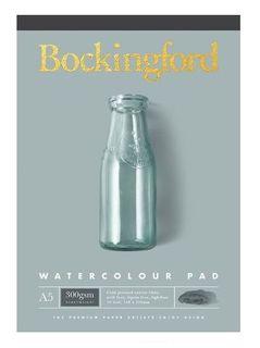 BOCKINGFORD WATERCOLOUR PAD 300GSM CP A5