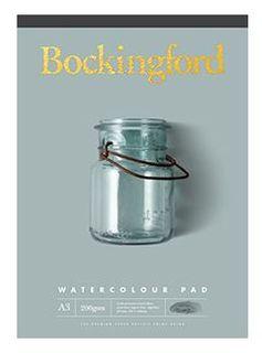 BOCKINGFORD WATERCOLOUR PAD 200GSM CP A5