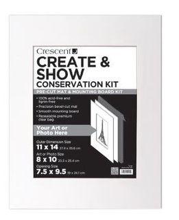 CRESCENT CREATE & SHOW CONSERV KIT 11X14