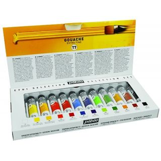 PEBEO T7 GOUACHE SELECTION SET 12X20ML