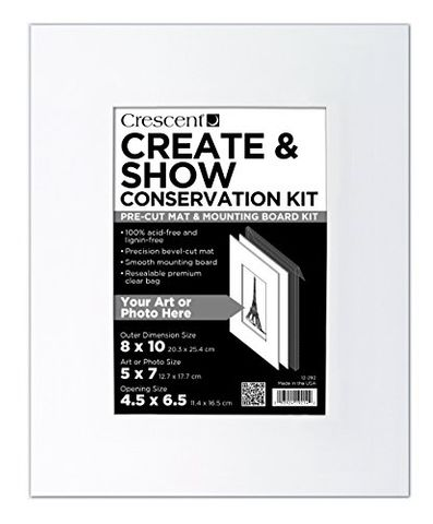 CRESCENT CREATE & SHOW CONSERV KIT 8X10