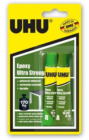 UHU EPOXY ULTRA STRONG 2 X 10ML