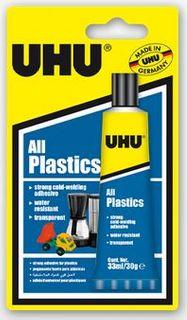 UHU ALL PLASTICS (UNIVERSAL) 33ML