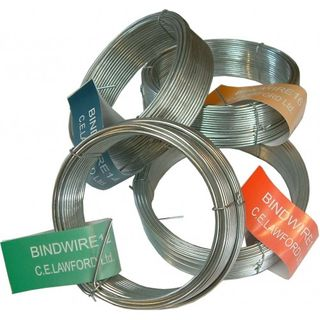 GALVANISED WIRE ROLL 14GM 2MM X 19.6M