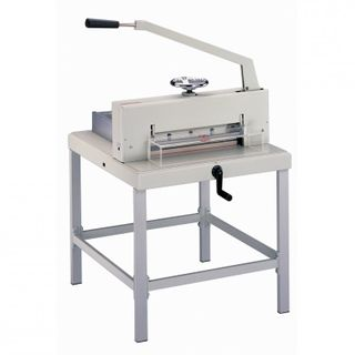 LEDAH 800HD HEAVY DUTY GUILLOTINE +STAND