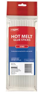 HOLDFAST HOT MELT GLUE GUN STICK MINI PKT10