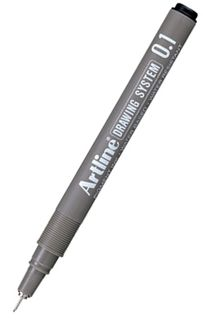 ARTLINE 231 0.1 BLACK DRAWING SYSTEM PEN