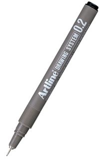 ARTLINE 232 0.2 BLACK DRAWING SYSTEM PEN