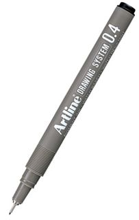 ARTLINE 234 0.4 BLACK DRAWING SYSTEM PEN