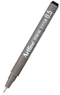ARTLINE 235 0.5 BLACK DRAWING SYSTEM PEN