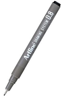 ARTLINE 238 0.8 BLACK DRAWING SYSTEM PEN