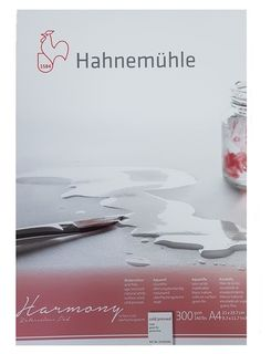 HAHN HARMONY WATERCOLOUR 300G CP PAD A4