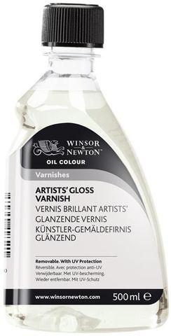 W&N ARTISTS GLOSS VARNISH 500ML