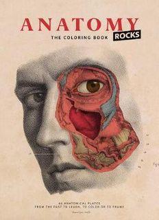 ANATOMY ROCKS COLOURING BOOK