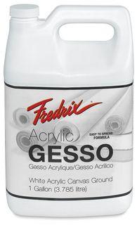 FREDRIX ACRYLIC GESSO 3.78L