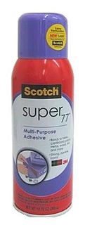 3M SCOTCH SUPER 77 SPRAY ADHESIVE 7716 305G CAN