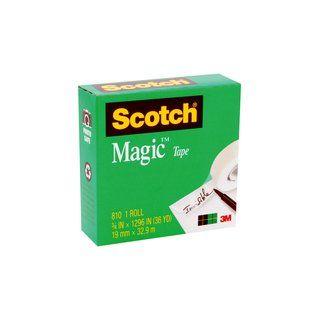 SCOTCH MAGIC TAPE 810 19MM X 33M