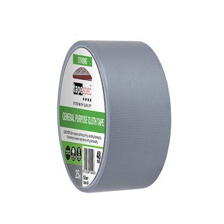 GENERAL PURPOSE CLOTH TAPE 48MMX25M SILVER