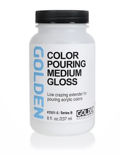 GOLDEN COLOR POURING MEDIUM GLOSS 236ML
