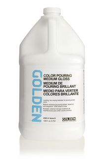 GOLDEN COLOR POURING MEDIUM GLOSS 3.78L