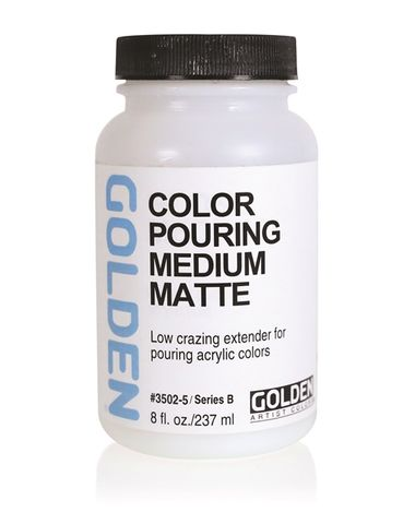 GOLDEN COLOR POURING MEDIUM MATTE 236ML