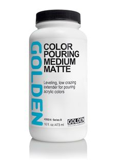 GOLDEN COLOR POURING MEDIUM MATTE 473ML