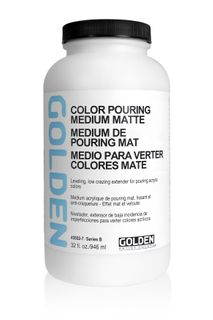 GOLDEN COLOR POURING MEDIUM MATTE 946ML